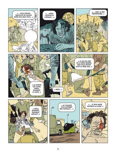 Page 4 Sarkozy - Kadhafi - Des billets et des bombes