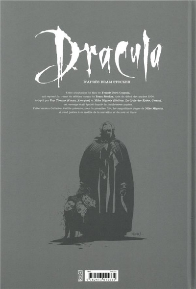 Dos Dracula - édition collector n&b
