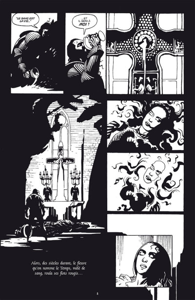 Page 4 Dracula - édition collector n&b