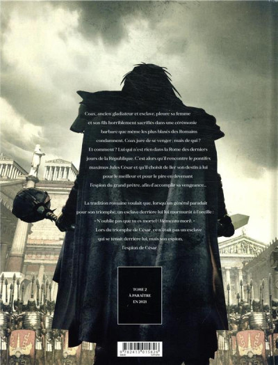Dos L'espion de César tome 1