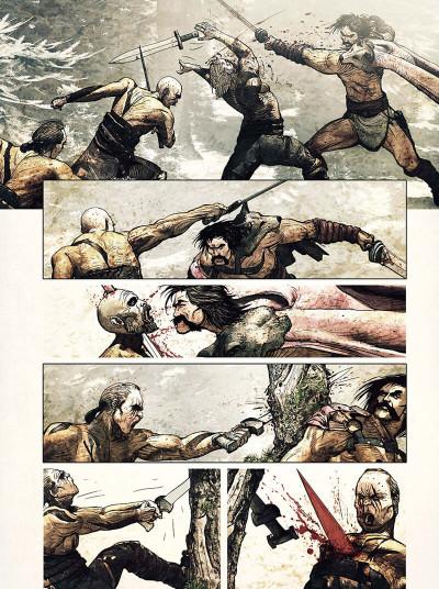 Page 5 L'espion de César tome 1