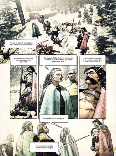 Page 6 L'espion de César tome 1