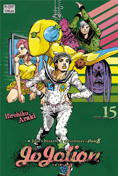 Couverture Jojo's bizarre adventure - Jojolion tome 15