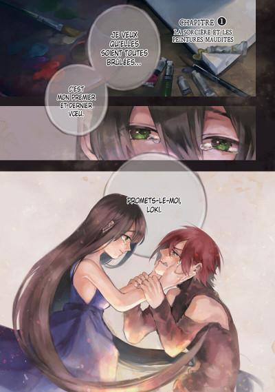 Page 3 La malédiction de Loki tome 1