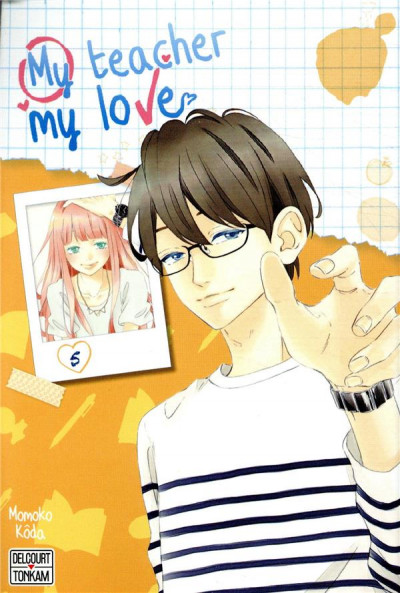 Couverture My teacher, my love tome 5