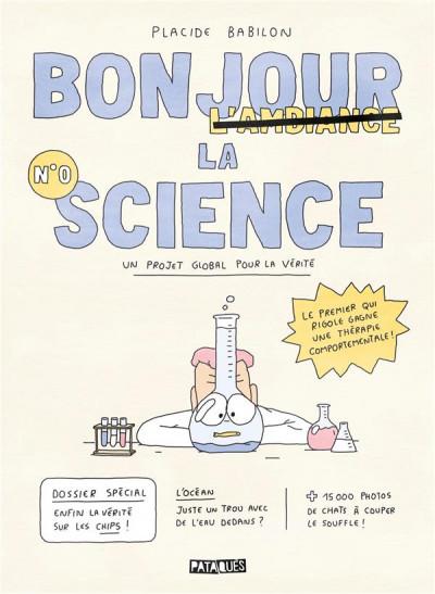 Couverture Bonjour la science