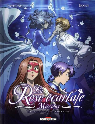 Couverture La rose écarlate - missions tome 8