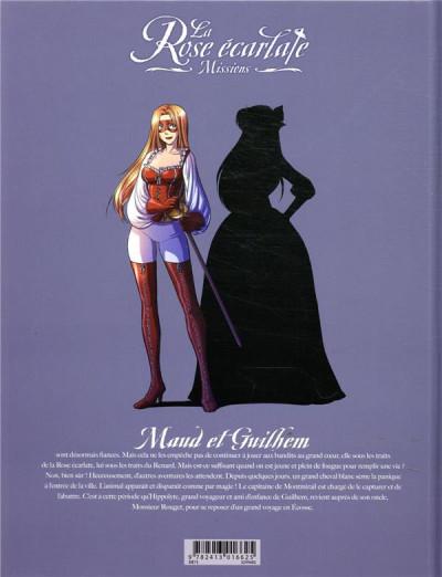 Dos La rose écarlate - missions tome 8
