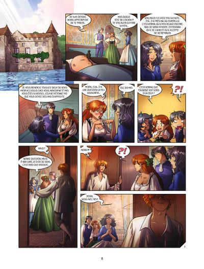 Page 8 La rose écarlate - missions tome 8