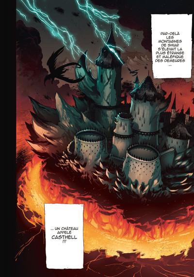 Page 2 Les légendaires - saga tome 1
