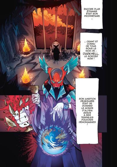 Page 3 Les légendaires - saga tome 1