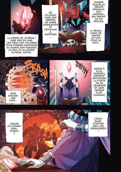 Page 5 Les légendaires - saga tome 1