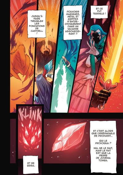 Page 6 Les légendaires - saga tome 1