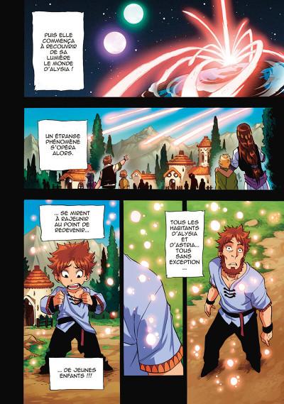 Page 8 Les légendaires - saga tome 1