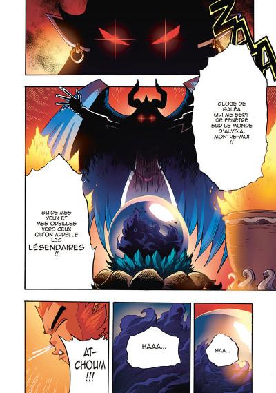 Page 2 Les Légendaires - saga tome 2