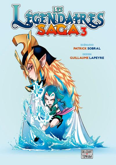 Page 1 Les légendaires - saga tome 3