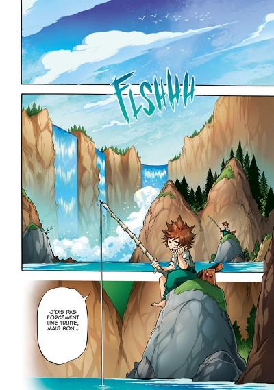 Page 2 Les légendaires - saga tome 3