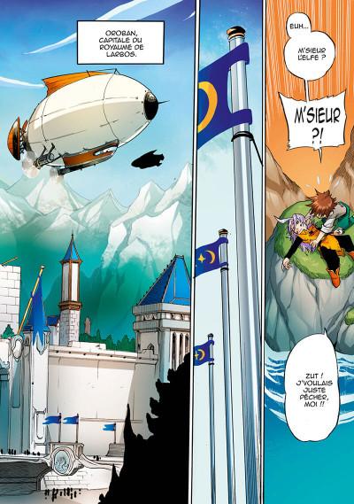 Page 8 Les légendaires - saga tome 3
