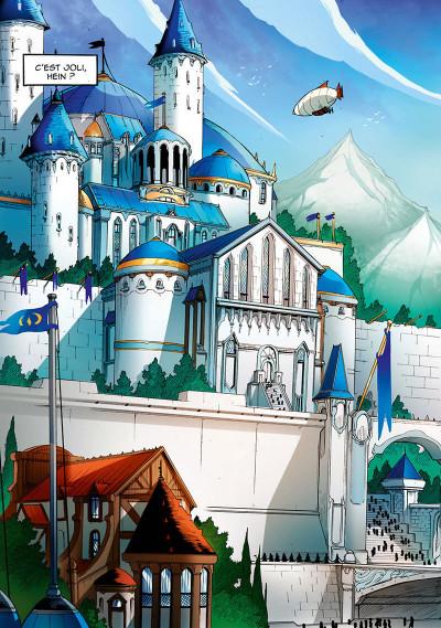 Page 9 Les légendaires - saga tome 3