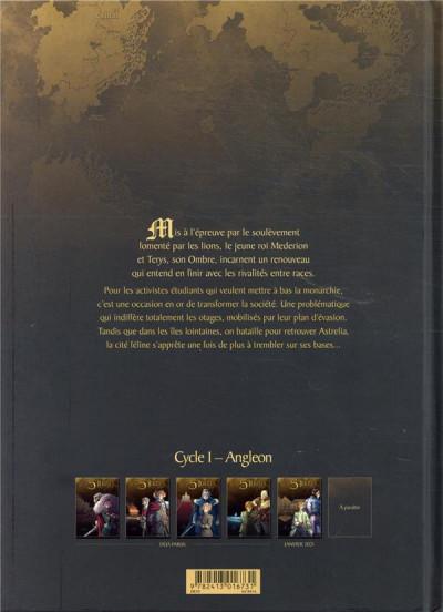 Dos Les 5 terres tome 4 + ex-libris offert