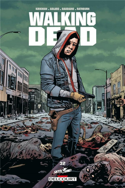 Couverture Walking dead tome 32