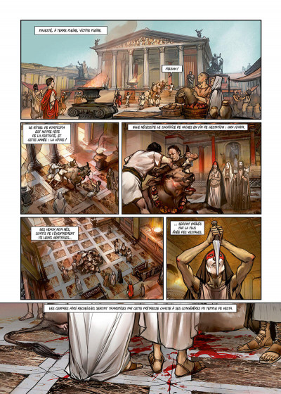 Page 3 Les reines de sang - Cléopâtre, la reine fatale tome 3