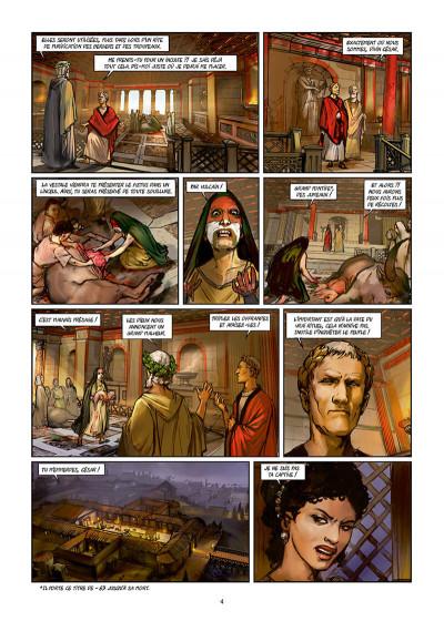 Page 4 Les reines de sang - Cléopâtre, la reine fatale tome 3