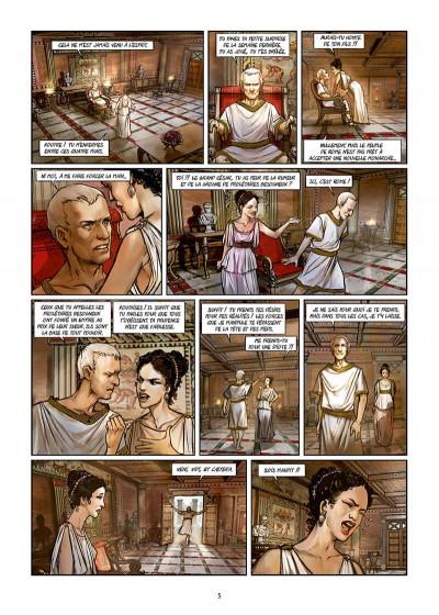 Page 5 Les reines de sang - Cléopâtre, la reine fatale tome 3