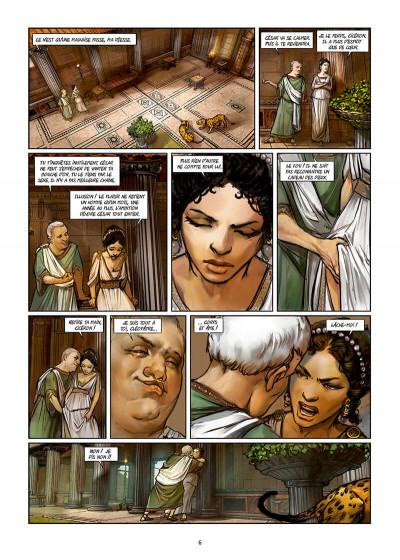 Page 6 Les reines de sang - Cléopâtre, la reine fatale tome 3