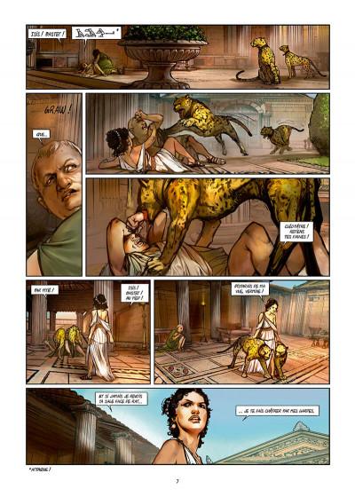 Page 7 Les reines de sang - Cléopâtre, la reine fatale tome 3