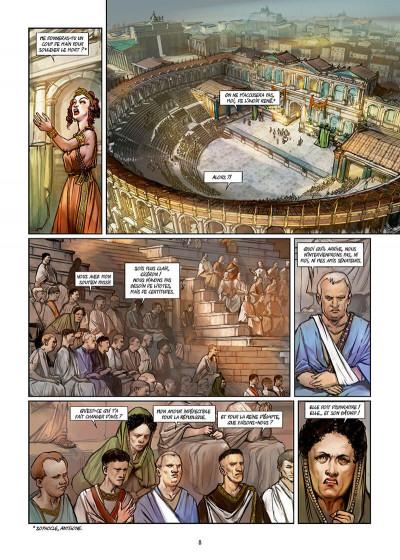 Page 8 Les reines de sang - Cléopâtre, la reine fatale tome 3