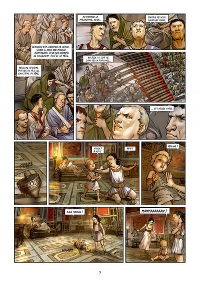Page 9 Les reines de sang - Cléopâtre, la reine fatale tome 3