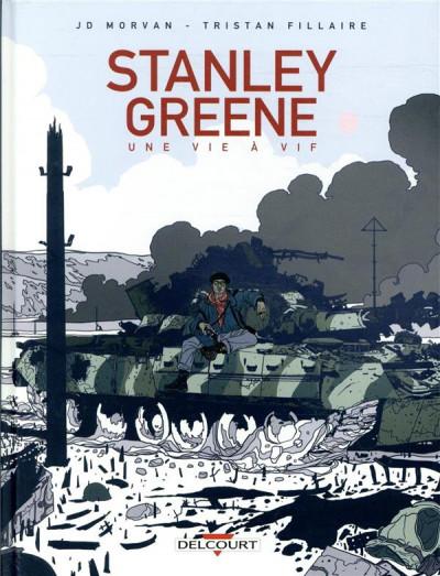 Couverture Stanley Greene, une vie à vif