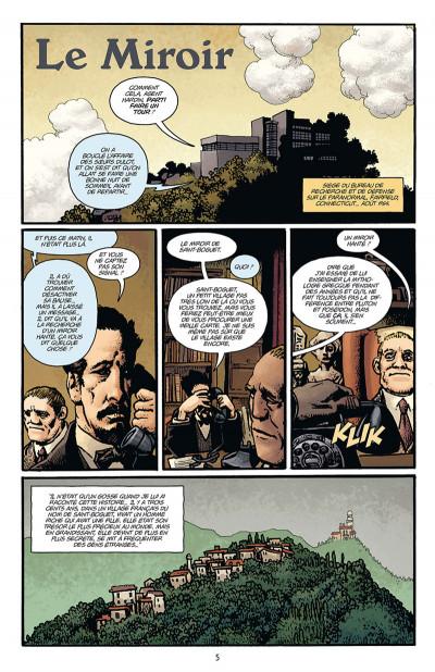 Page 1 Hellboy par Richard Corben