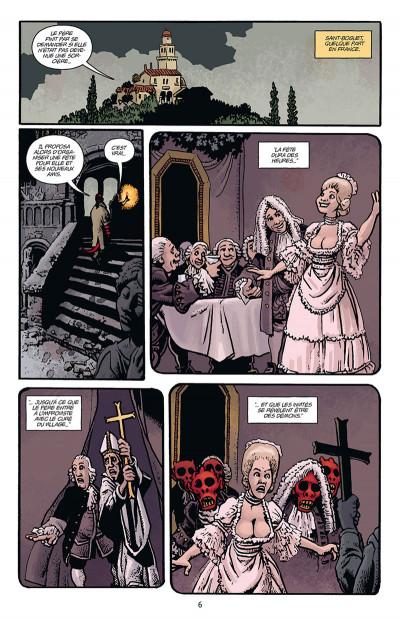 Page 2 Hellboy par Richard Corben