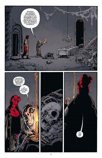Page 3 Hellboy par Richard Corben