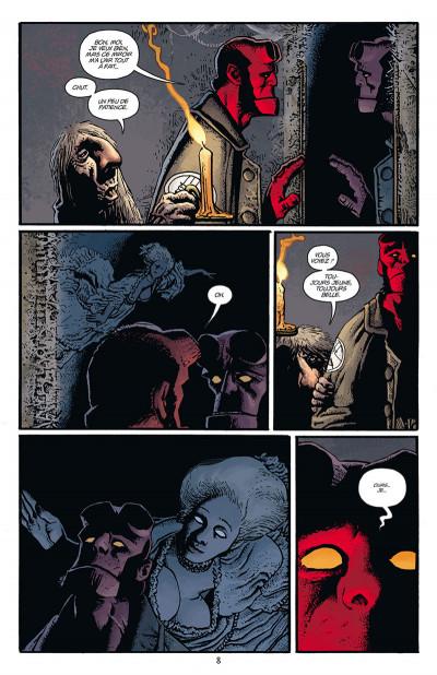 Page 4 Hellboy par Richard Corben