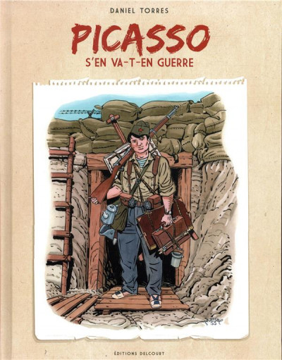 Couverture Picasso s'en va-t-en guerre