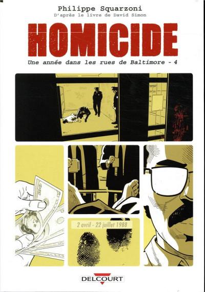 Couverture Homicide - Une année dans les rues de Baltimore tome 4