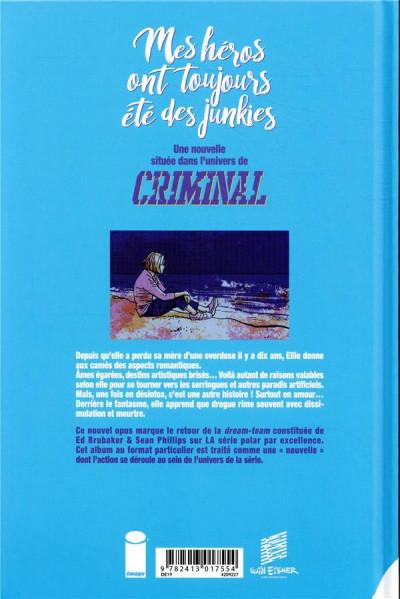Dos Criminal - Mes héros ont toujours été des junkies