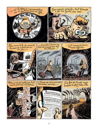 Page 5 Une aventure de mystère et boule de gomme