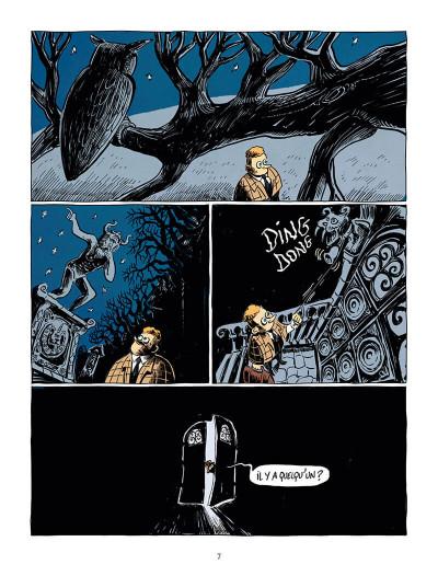 Page 7 Une aventure de mystère et boule de gomme