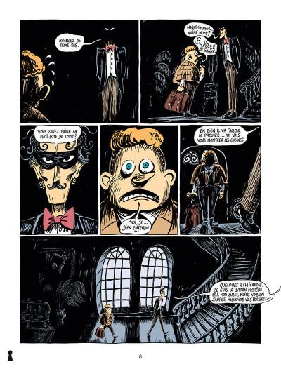 Page 8 Une aventure de mystère et boule de gomme