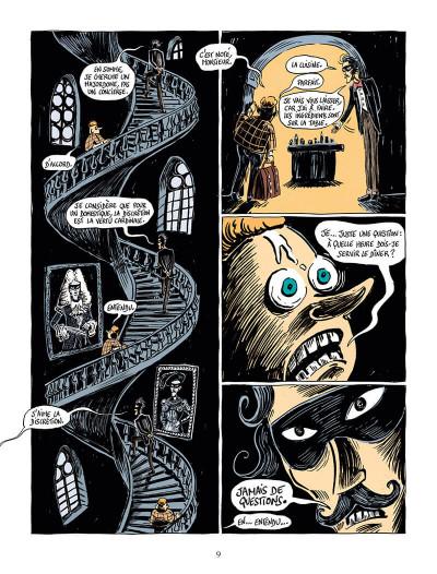 Page 9 Une aventure de mystère et boule de gomme