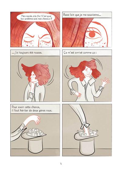 Page 4 La rousseur pointée du doigt