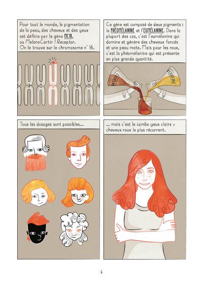 Page 6 La rousseur pointée du doigt