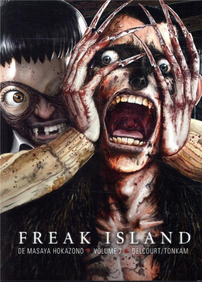 Couverture Freak island tome 7