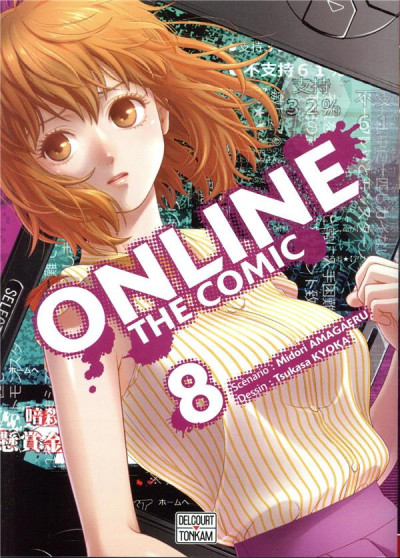 Couverture Online the comic tome 8