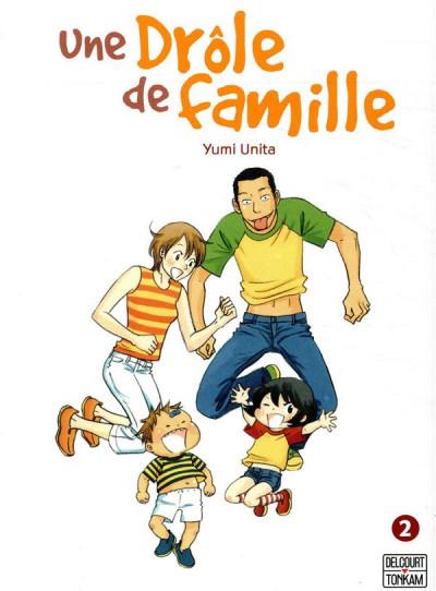 Couverture Une drôle de famille tome 2