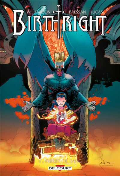 Couverture Birthright tome 7